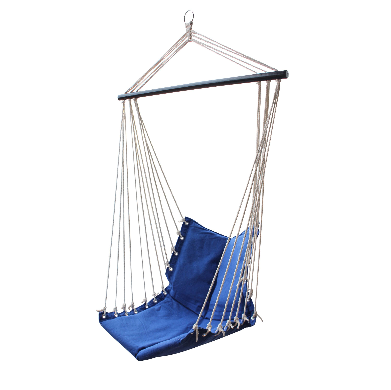 Cobalt Hanging Hammock Chair