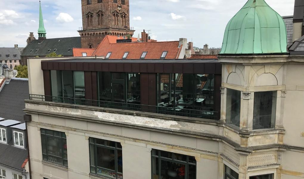 Kontorlokaler i tagetagen
