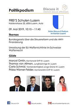2019.05.09 FREI'S Schulen, Luzern, Polit