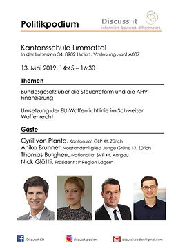 2019.05.13 Kanti Limmattal, Urdorf, Poli
