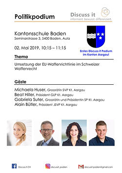 2019.05.02, Kantonsschule Baden, Politik