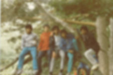 1985 camping trip with Saathi House and Suhel Obeda
