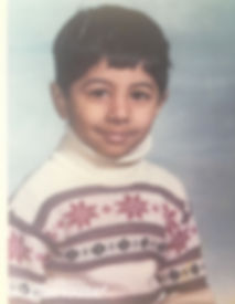 Ammo Talwar as a child