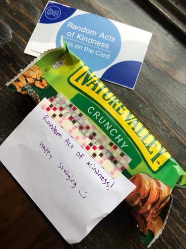 Study snacks for strangers