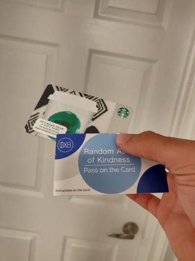 Starbucks for a star friend