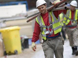 'Aantal ongevallen in bouw onacceptabel hoog'