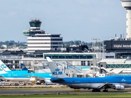 What are the long-term effects of the pandemic on Schiphol Airport?