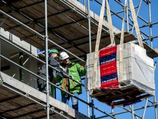 'Aannemers ervaren tekort aan vakmensen op bouwplaats'