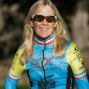 Laura is an avid cyclist
