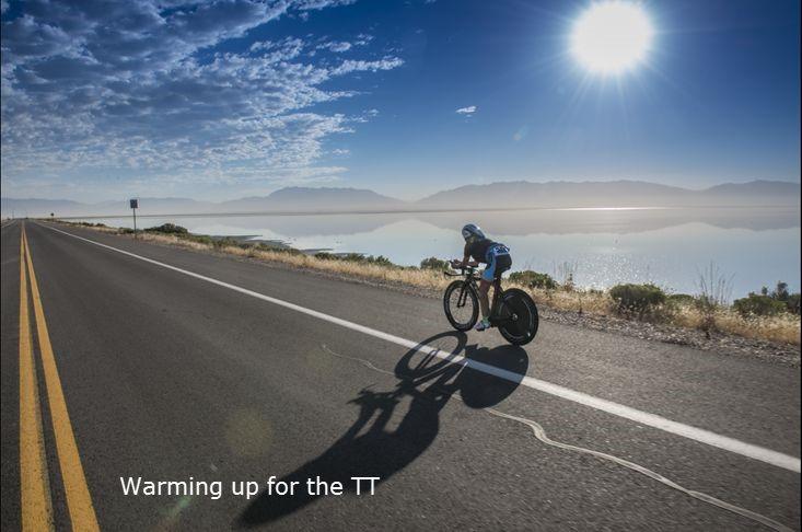 TT warmup in Utah