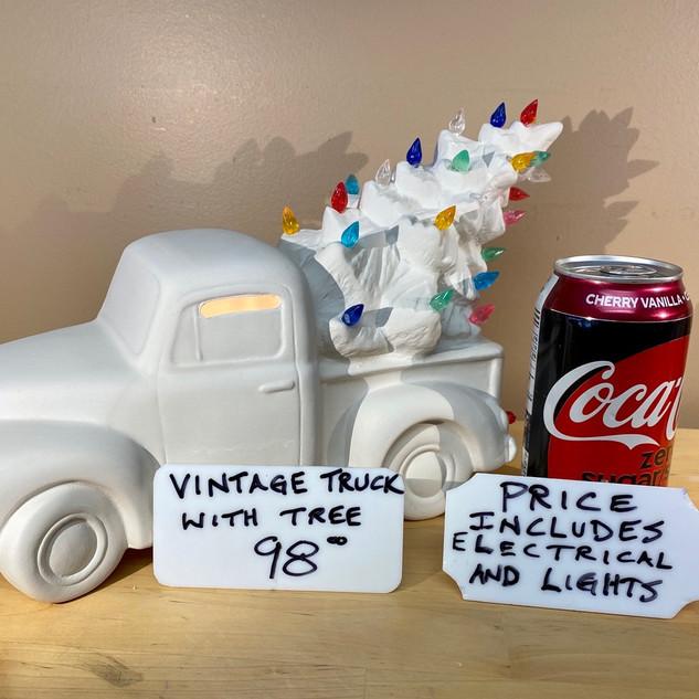 CHRISTMAS TREE TRUCK $98