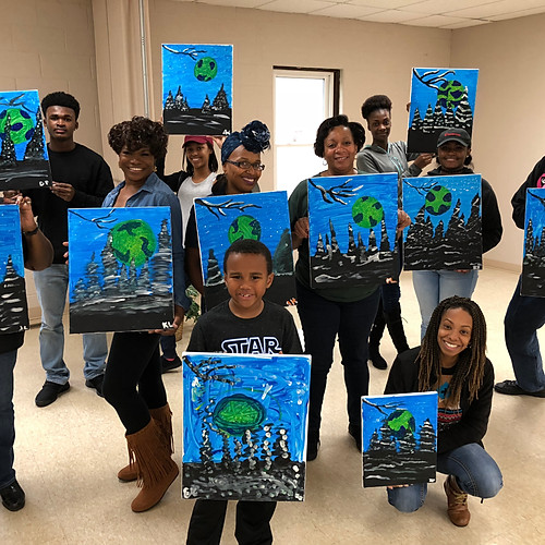 KRSF Paint Party