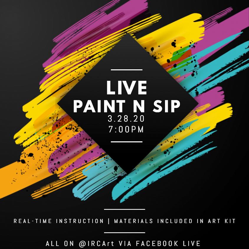 Intoxi'Paint Party: Live Sessions (21+)