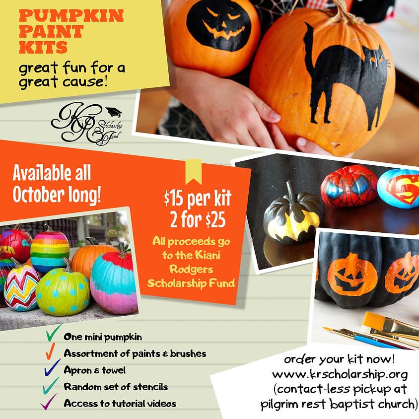 KRSF Pumpkin Paint Kit Pre-Order Sale