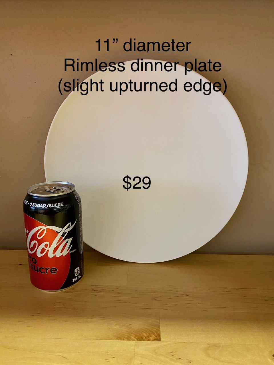11 inch plate