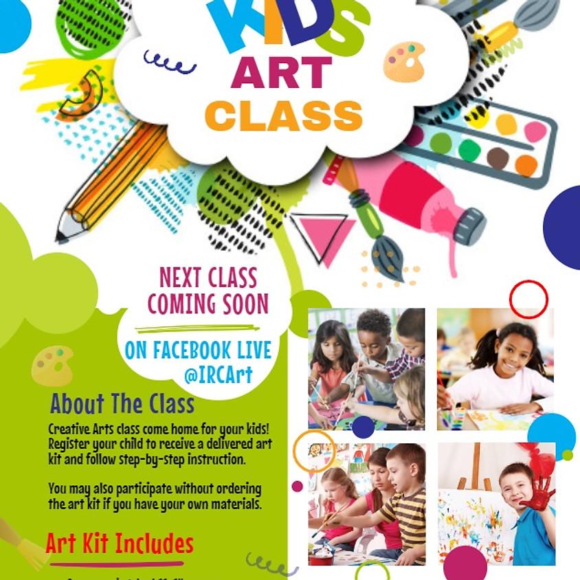 IRCArt Live Sessions: Kids Paint