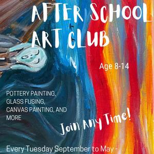 After School Art Club  Info/Register