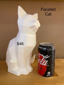 faceted cat