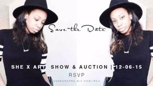 SHE X ART Show & Auction