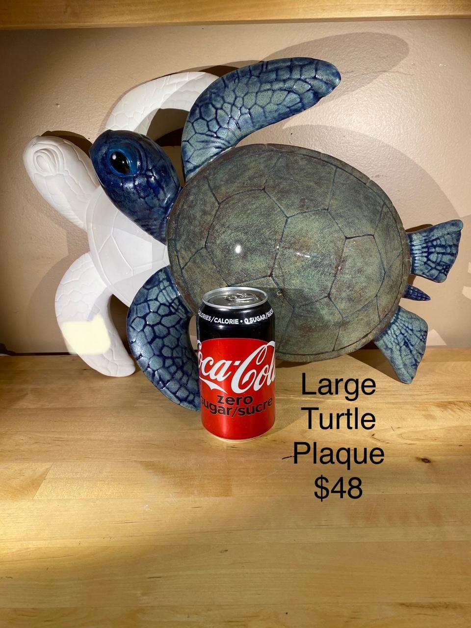 large turte plaque