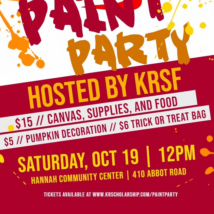 KRSF Paint Party!