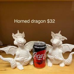 horned dragons