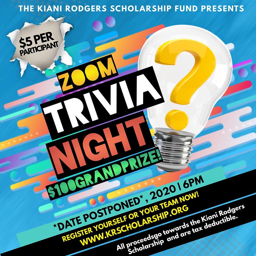 KRSF Zoom Trivia Night