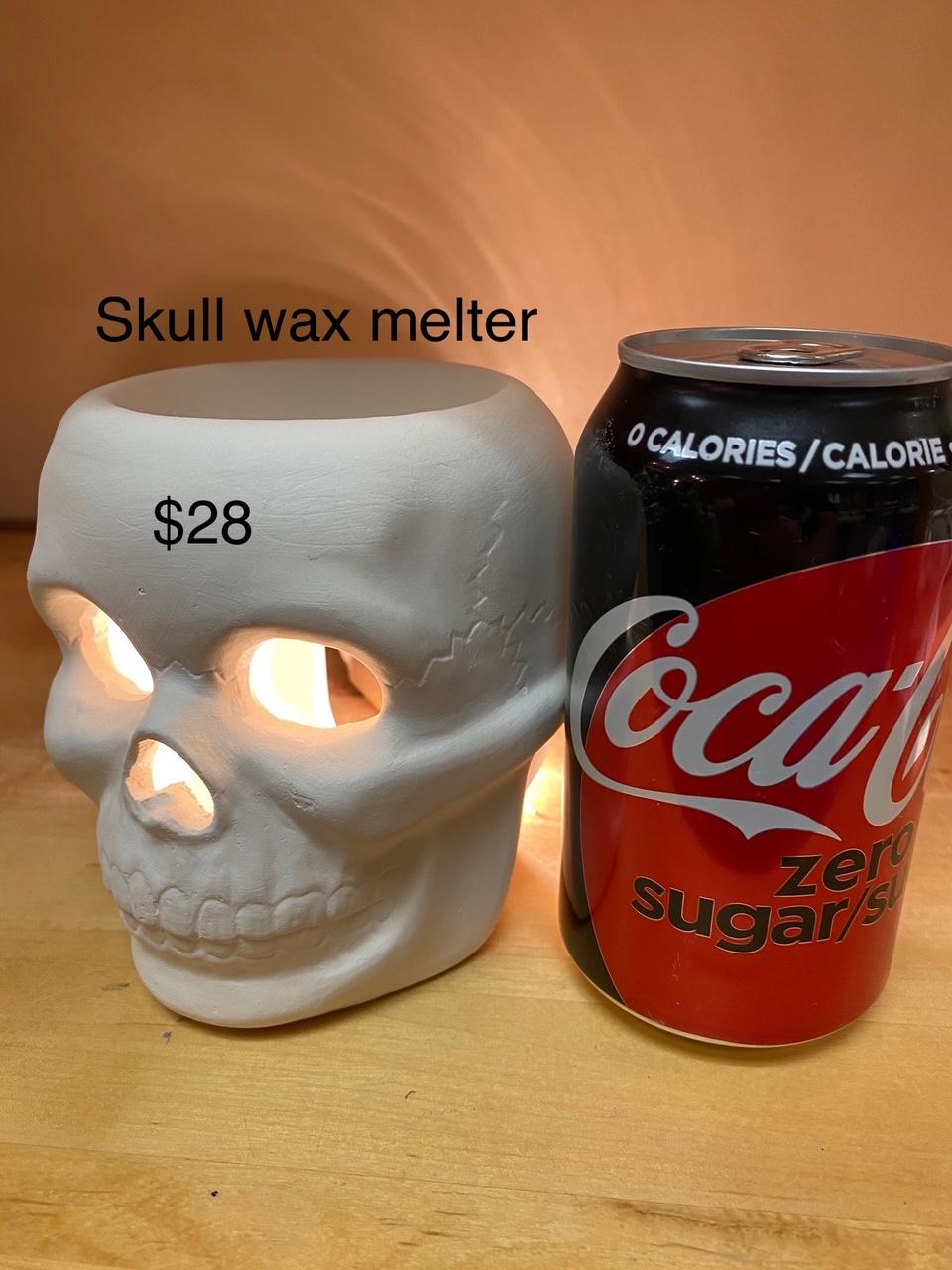 skull wax melter