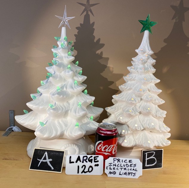 LARGE TREES (2 STYLES) $120