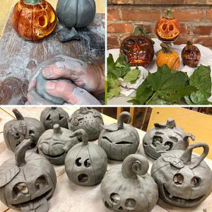 Adult Clay Pumpkin Workshop - Sept. 29/21 * SOLD OUT *