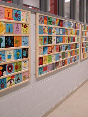 Commemorative/Anniversary Wall