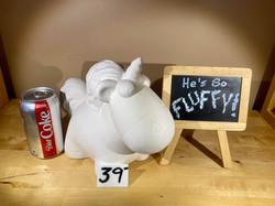 fluffy unicorn bank
