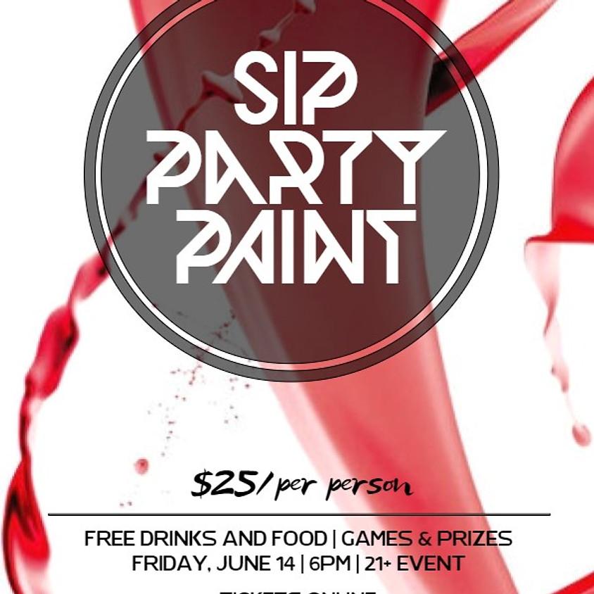 Intoxi'Paint Party: Sip, Party, Paint