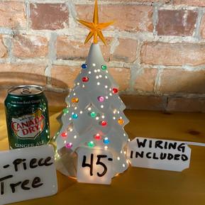 ONE-PIECE CHRISTMAS TREE $45