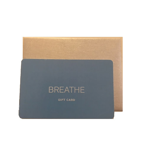 Breathe by Amy Naber Gift Card