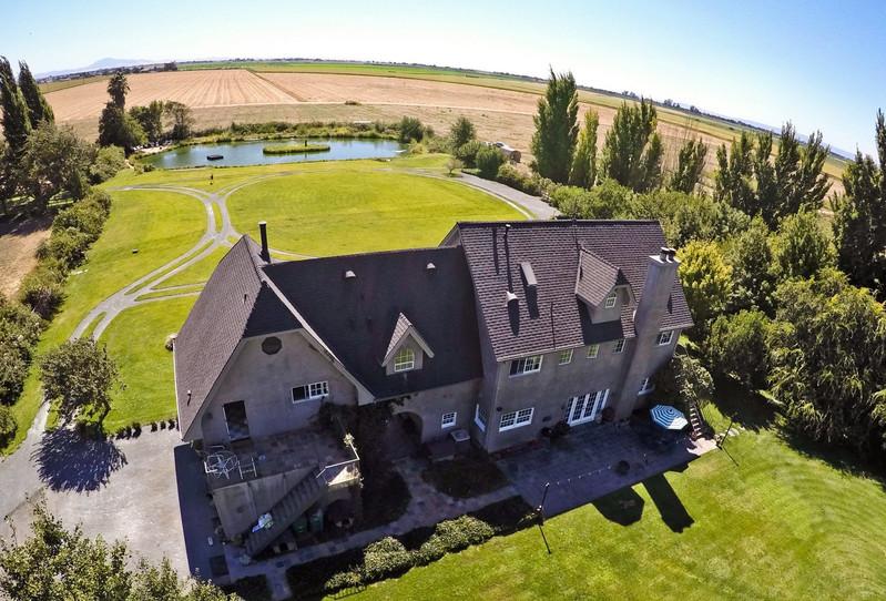 The Farm Aerial