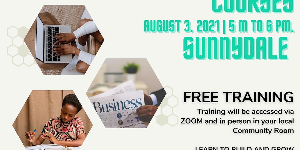 Entrepreneurial Training - Sunnydale/Velasco