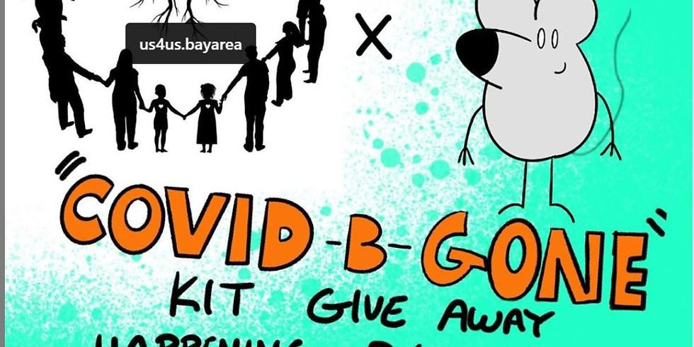 Us4Us & RickyRat Comix - Covid B-Gone Kit Give Away
