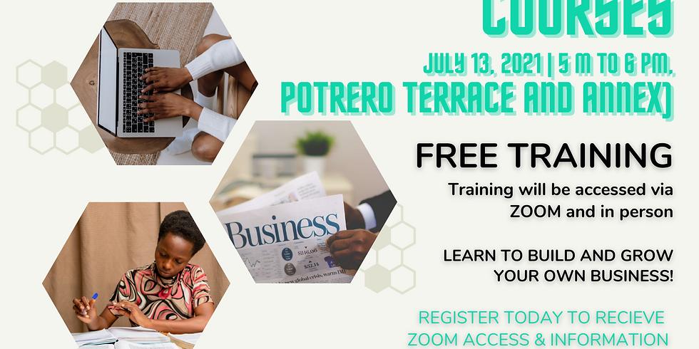 Entrepreneurial Training - Potrero Terrace & Annex