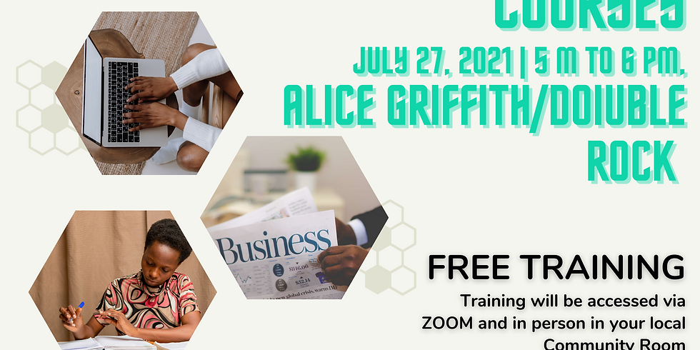 Entrepreneurial Training - Alice Griffith/Double Rock
