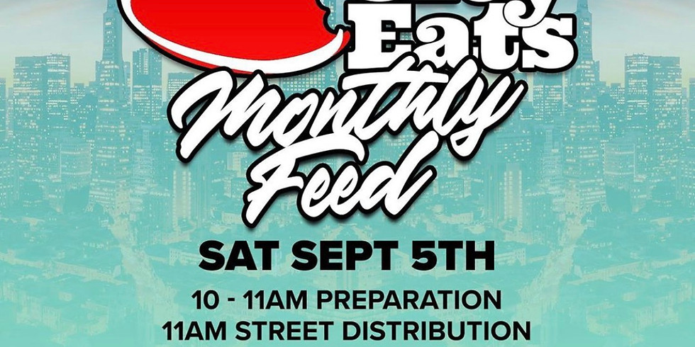 """Us4Us will be supporting """"The City Eats Monthly Feed"""""""