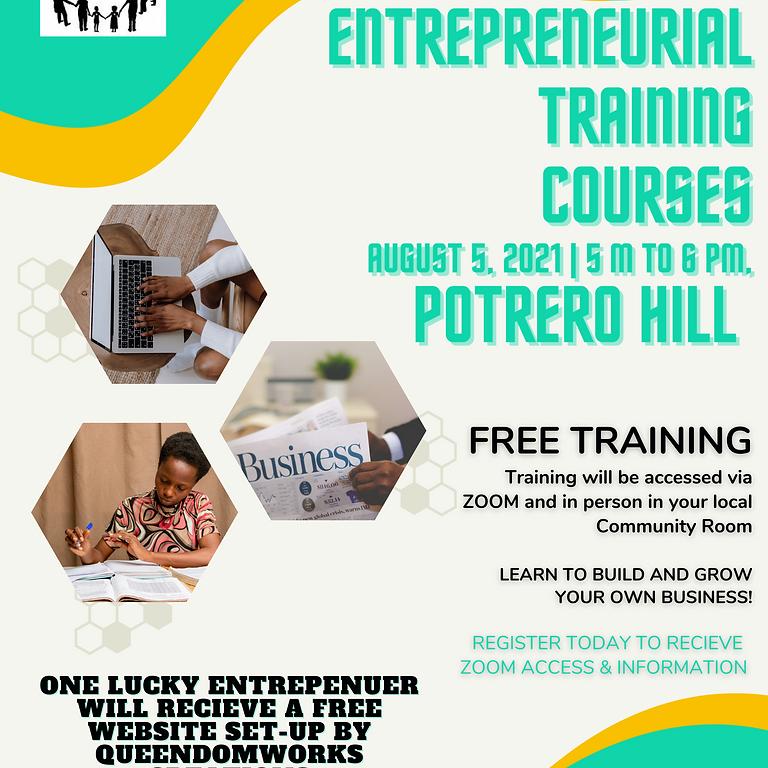 Entrepreneurial Training - Potrero Hill