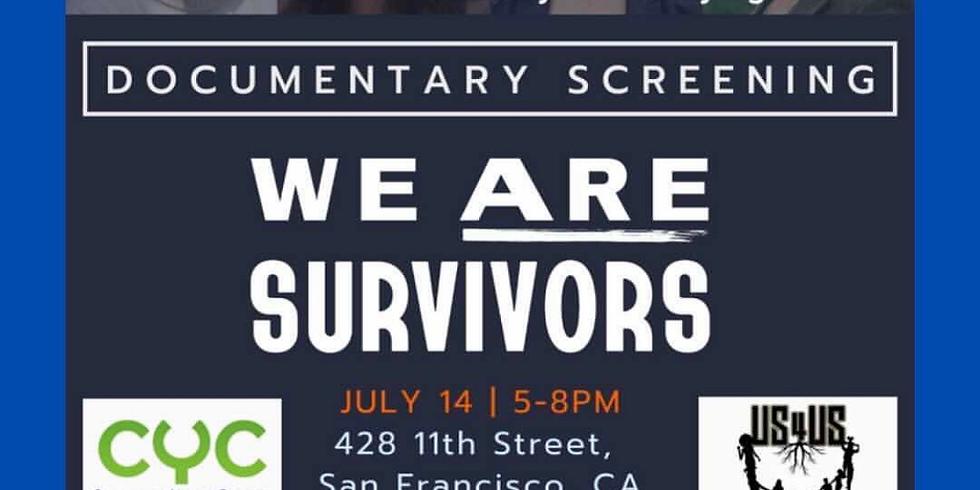 We Are Surviviors - Documentary Screening
