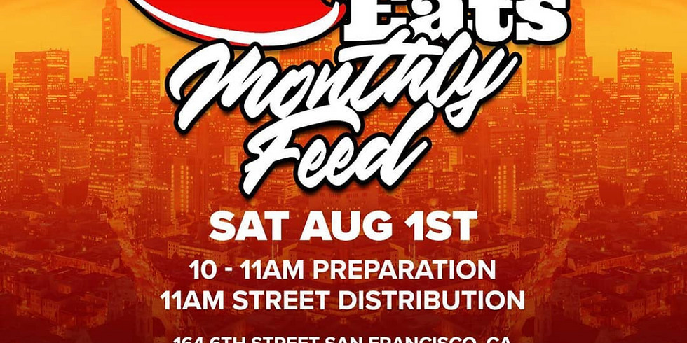 The city eats monthly homeless feed.