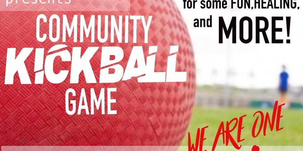 Richmond Healing Circle Presents - Community Kickball Game