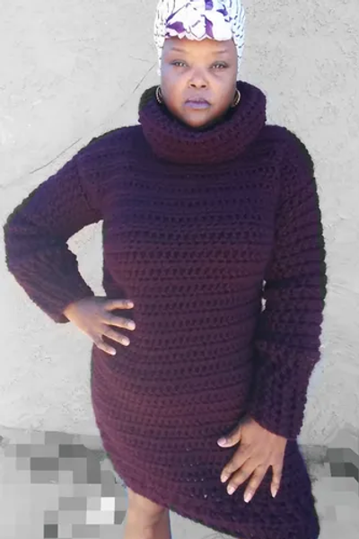 No Chill  Sweater Dress Pattern