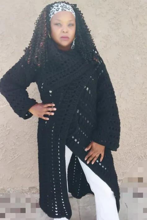 Black Beauty Cardigan Wrap Pattern