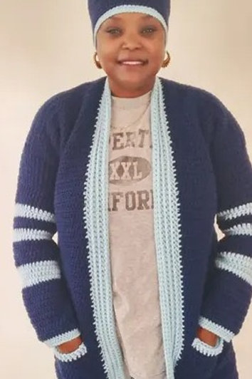 The Grownish Cardigan Pattern (BOGO pattern comes with the School Daze Cardigan