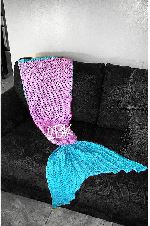 Mermaid Tail Blanket Pattern