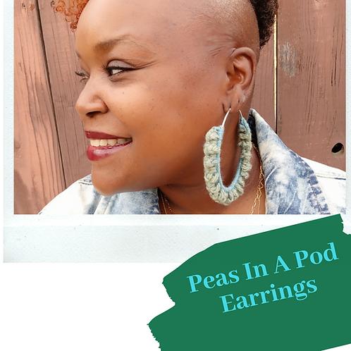 Peas In A Pod Earrings Pattern